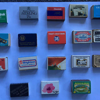 Match Boxes Lot 2