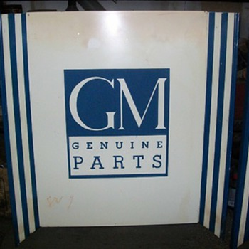 GM / CHEVROLET counter endcaps - Signs