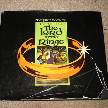 Lord of The Rings (Original Cartoon Movie Book)