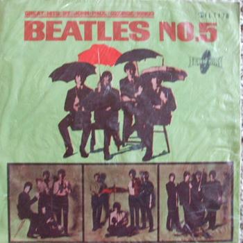 Import Beatles album - Records