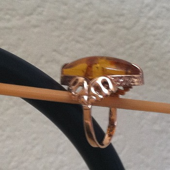 Baltic Amber Ring - Fine Jewelry