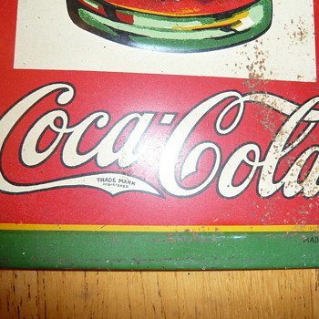 more coke signs - Coca-Cola