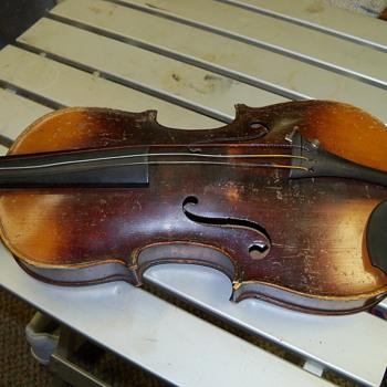 violin 3/4 dominicus montagnana sub signo cremonae venetia - Musical Instruments