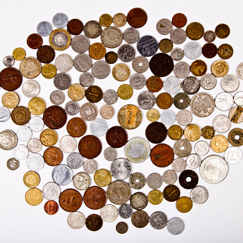 Foreign Coins, Anything with a story - World Coins