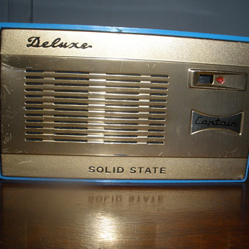 Captain Deluxe Transistor Radio