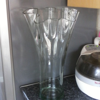my lovely wavy topped vase - Art Glass