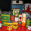oil cans collection