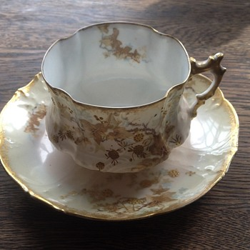 M Redon, Limoges Cup and Saucer-is it collectible?