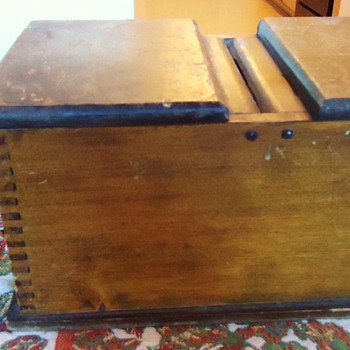 Freemason Old Blackballing Secret Voting Box! - Furniture