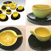 BEAUTIFUL, JET AGE TEA SET FROM RIO, ONE OF A KIND