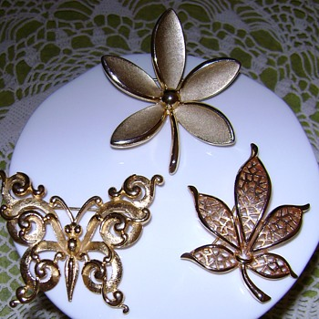 Crown Trifari Brooches