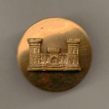 1950's - U.S. Army Corps of Engineers Pin - Military and Wartime