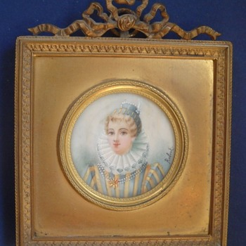 Miniature signed Robert - Visual Art