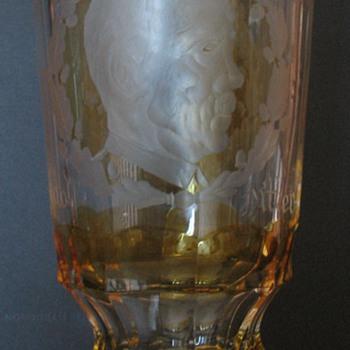 German Glass Mug