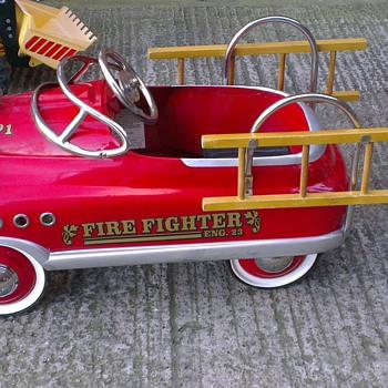 fire truck 1950s?