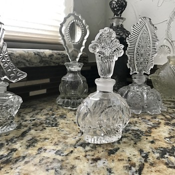 Mom's Perfume Bottles - Glassware