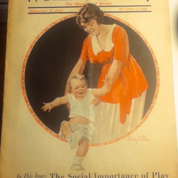 Woman's Weekly - Sept. 1923 - Paper