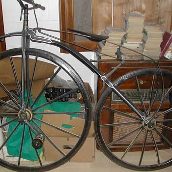 BICYCLE Pièrre Ernest Michaux 1865