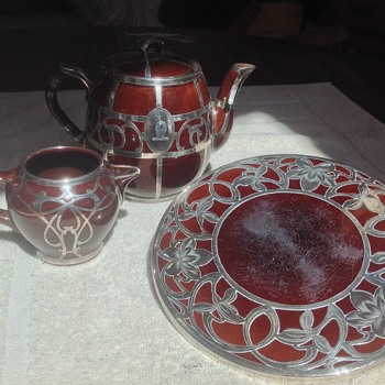 Original Brown Betty Tea Set