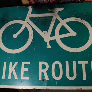 Cool Bike Sign
