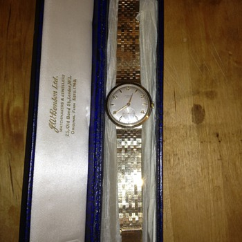 JW Benson Gents Wristwatch
