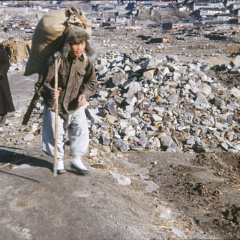 1953 Korean War aftermath photo