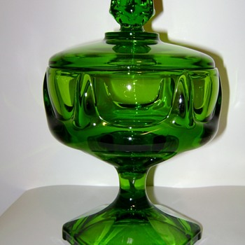 Viking Glass Compote - Glassware