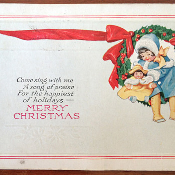 Vintage Christmas Postcards - Christmas