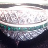 Art Deco Ciner Ring