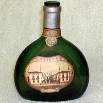1950's - Mateus Sogrape Wine Bottle