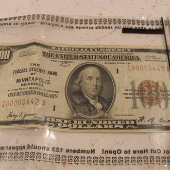 Federal Reserve Notes in Wisconsin
