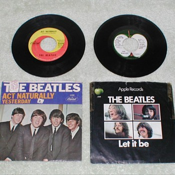 The Beatles - 45&#039;s - Records