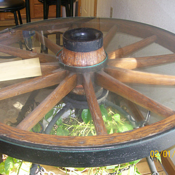 Conestoga Wagon Wheel - Furniture