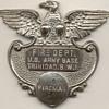 US Army Trinidad, British West Indies Fire Department Badge