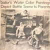 Grandfather's WWII combat artwork newpaper articals
