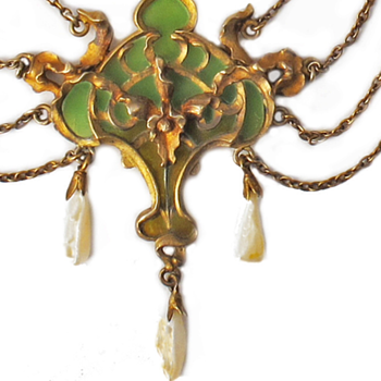 Hand carved model for Art Nouveau Janvier Quercia jewel. - Art Nouveau