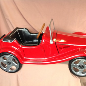 MG TF 1954 pedal car