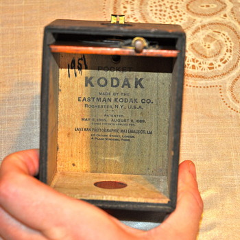 Eastman Kodak Camera 1186 1889 - Cameras