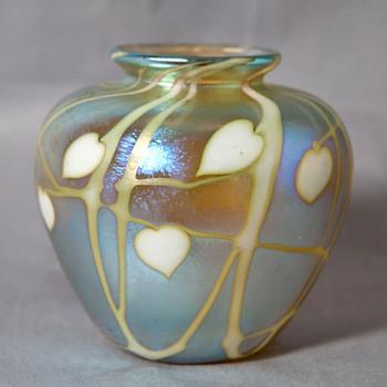 Richardson Art Nouveau Style Vase - Art Glass