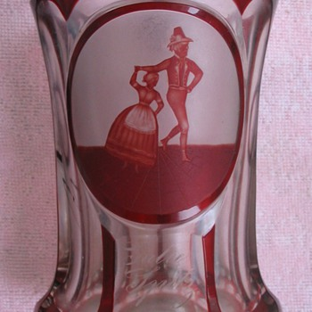BIEDERMEIER BEAKER - Art Glass