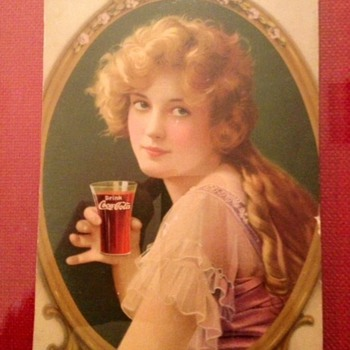 Partial 1919 Coca Cola Calendar