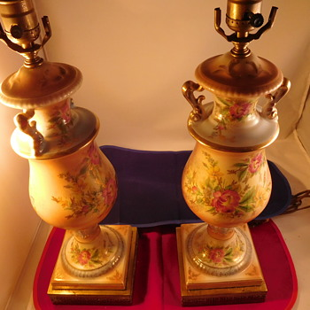 Two lamps from Grandparents home 1920's-1940's?