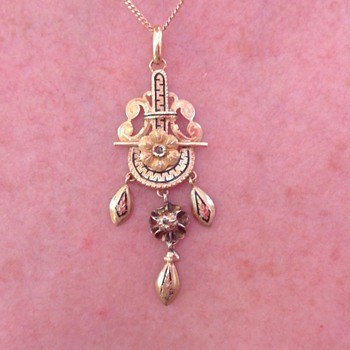 Gold pendant - Fine Jewelry
