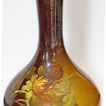 J.B.Owen Utopian vase - Art Pottery