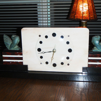 Some of my Art Deco clocks - Clocks