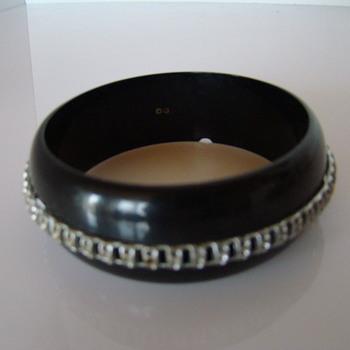 Art deco bakelite (?) bracelet - Art Deco