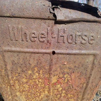 1950's Wheel-Horse Garden tractor - Tractors