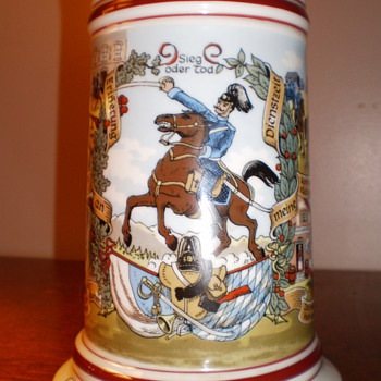 Regimental German Stein  - Breweriana