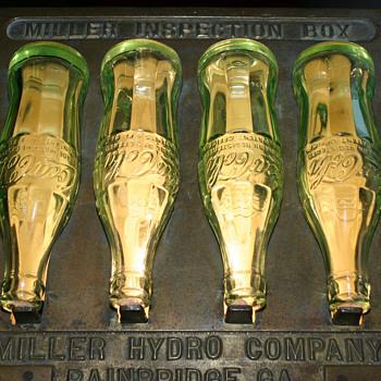 Coca-Cola Bottle Inspection Box - Coca-Cola