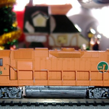 EJ&E #658 SD38-2 N scale